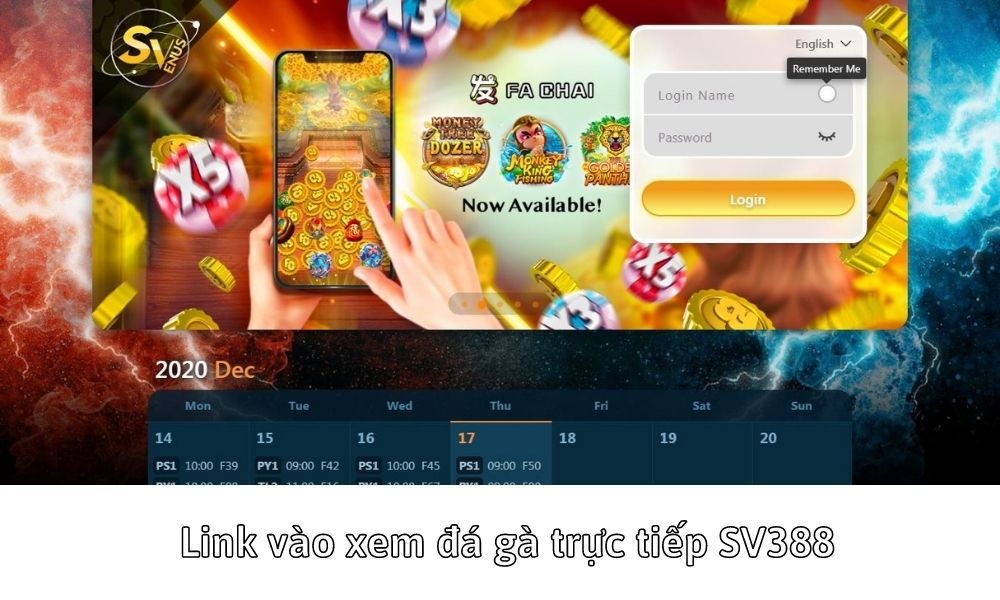 Link vào xem đá gà trực tiếp SV388