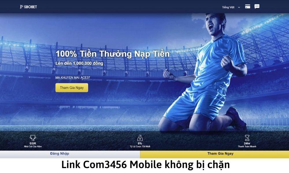 Link Com3456 Mobile không bị chặn