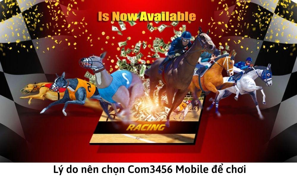 Lý do nên chọn Com3456 Mobile để chơi