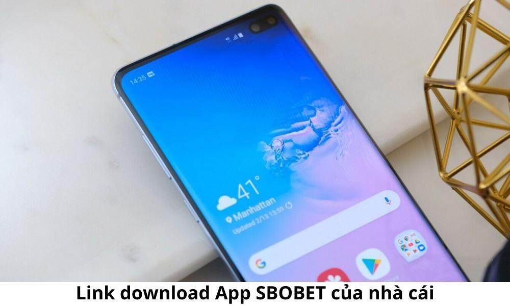 Link download App SBOBET của nhà cái